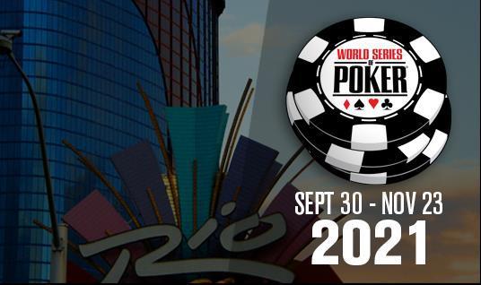 Live World Series of Poker announced for September 2021