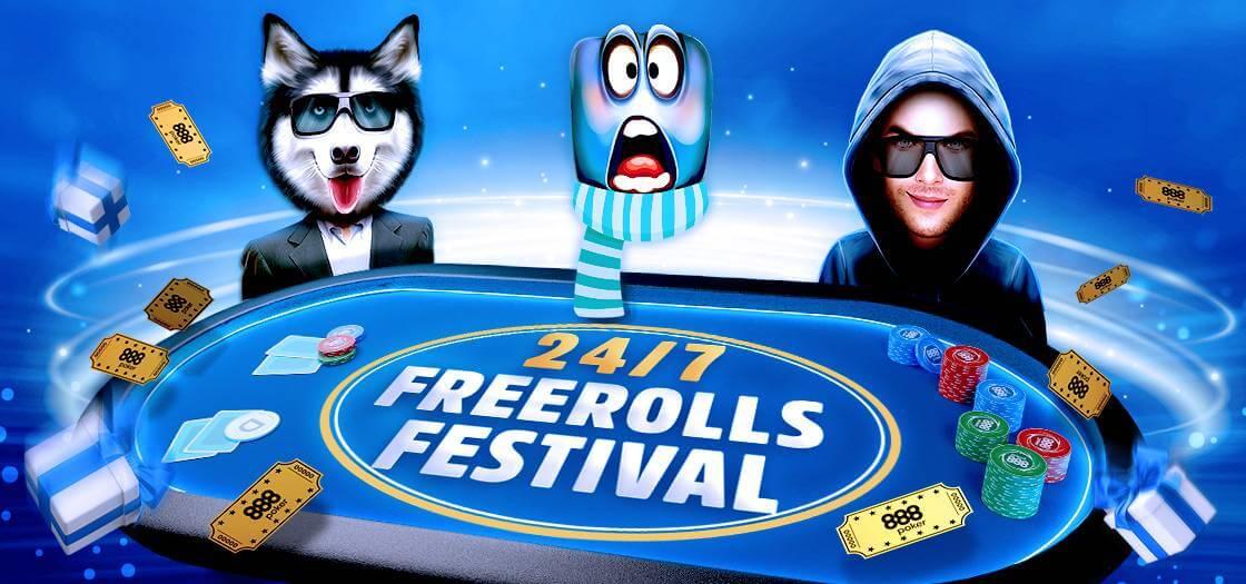 Turnamen Poker Freeroll Terbaik 888Poker