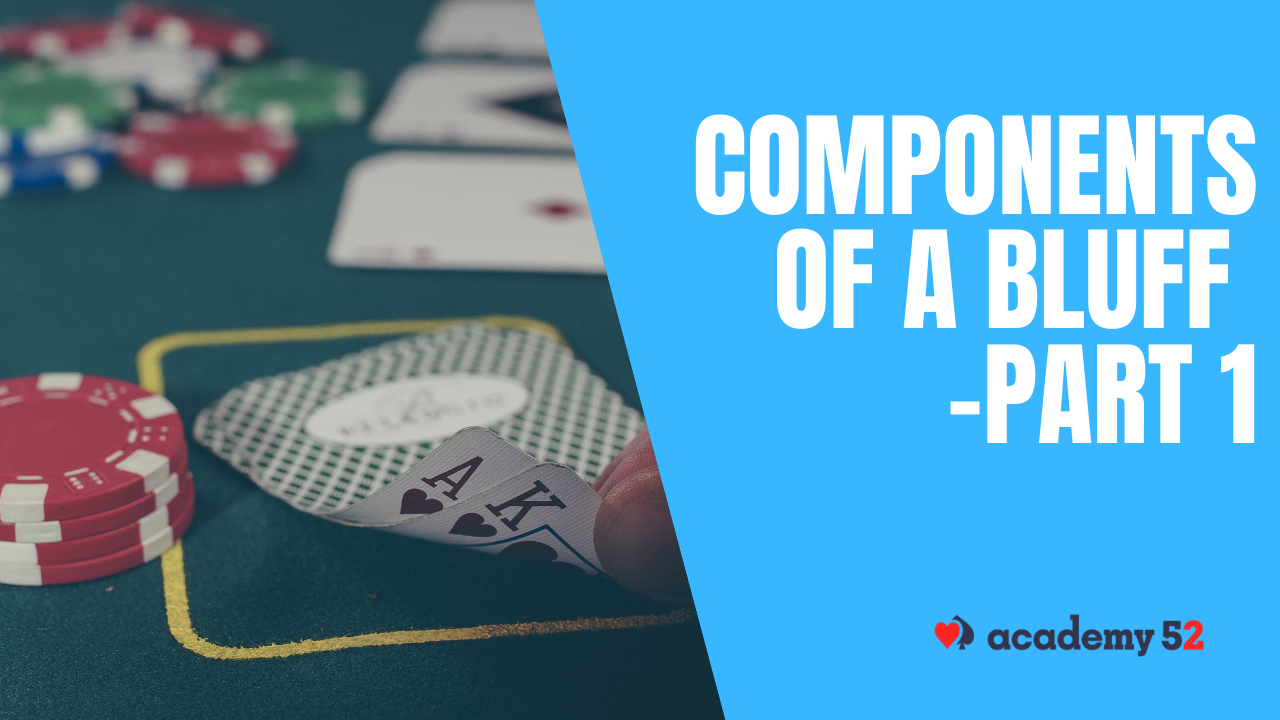 Components of a Bluff -Part 1