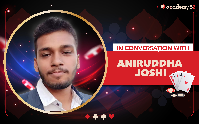 In conversation with Aniruddha Joshi
