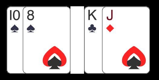 Strategi Poker Dua Kartu Pertama: Posisi Tengah