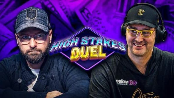 Phil Hellmuth Defeats Daniel Negreanu after epic comeback in High Stakes Duel 2!