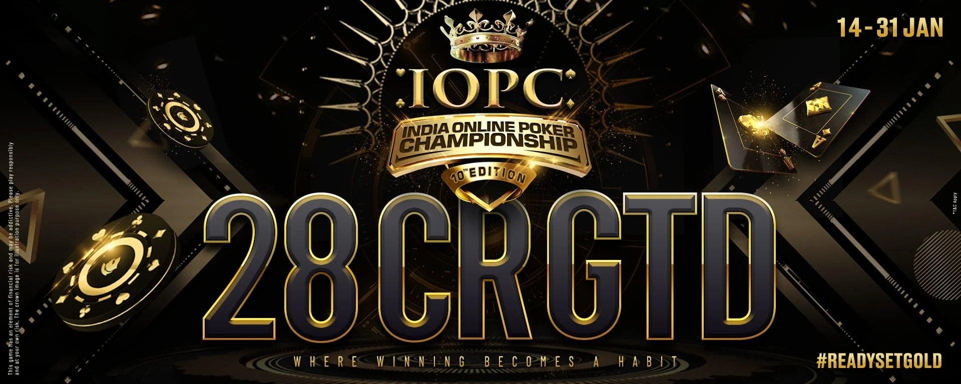Kejuaraan Poker Online India Kembali Dari 14-31 Januari