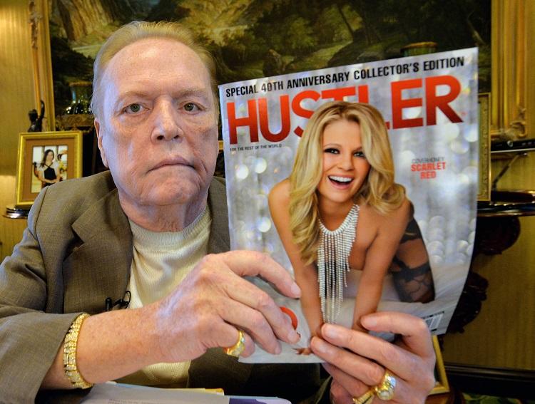 Larry Flynt, Veteran Poker, Meninggal Dunia