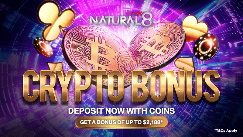 Exclusive Bonus Of Up To USD 2,188 For Cryptocurrency Users On Natural8