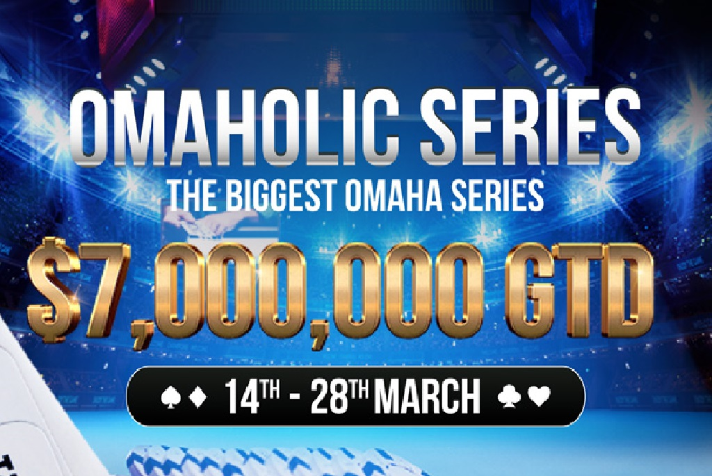 Omaholic Series By Natural 8 Hits This March, With $7 Million GTD