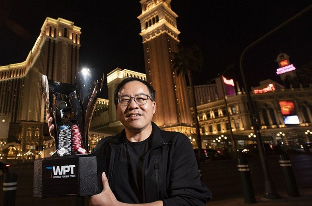 Qing Liu won the WPT Venetian Main Event