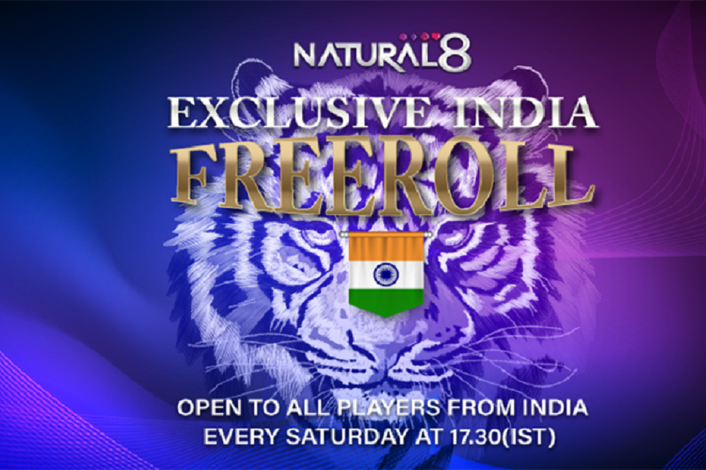 Weekly $100 Freeroll For Indian Players on Natural 8!
