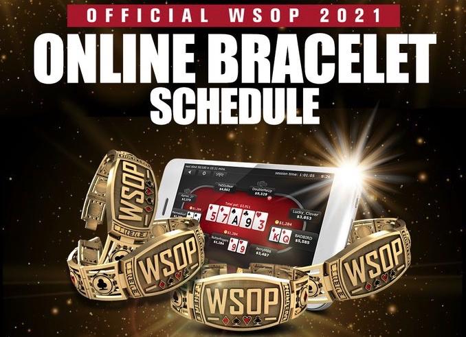 WSOP Online 2021 Domestic Bracelet Series Full Schedule Revealed