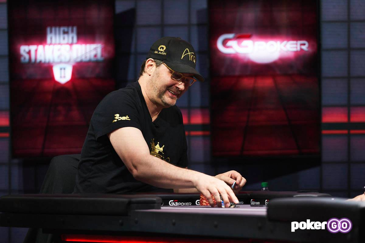 Phil Hellmuth Sweeps Round 2 of High Stakes Duel against Daniel Negreanu